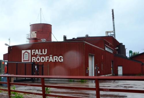 faluröd fabriek