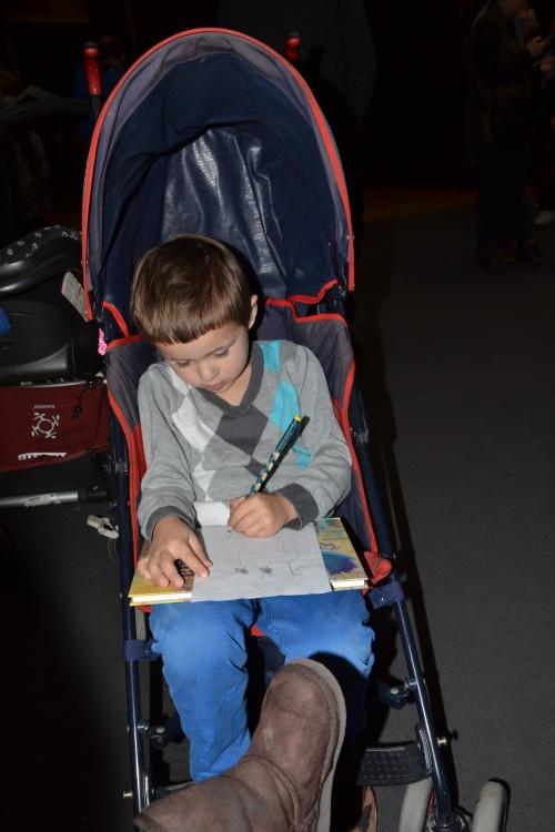 tekenen  vanuit de buggy