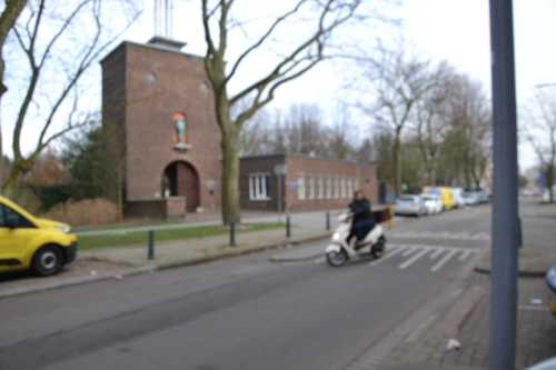het crematorium in Crooswijk